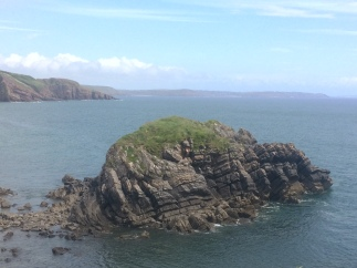 Folding in Pembrokeshire
